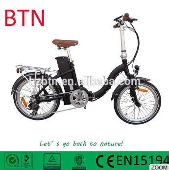 2016 new style hot sale 250w 20 inch electric folding bicycle