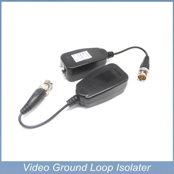 new video ground loop isolator for cctv