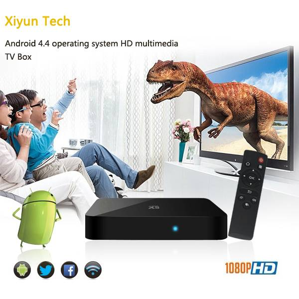 Quad Core Smart TV Box HR-GT87A