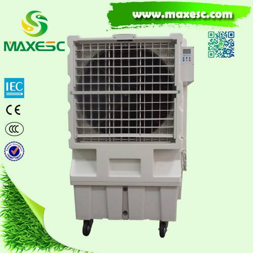 Maxesc Floor standing large airflow water air cooler conditioner for house or factory evaporative po