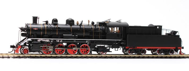 HO scale model train live steam locomotive for adult