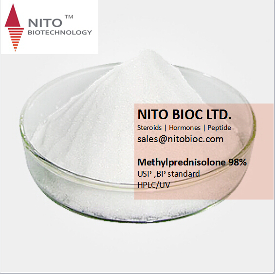 Hot Sell Strong Steroid Powder:Methylprednisolone for bodybuilding with high quality in safe