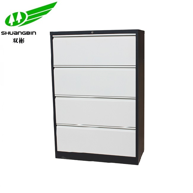 Hot sale different color popular 4 drawer steel filing cabinet