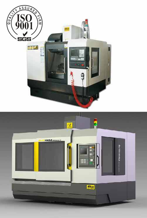 CNC machining center and processing service