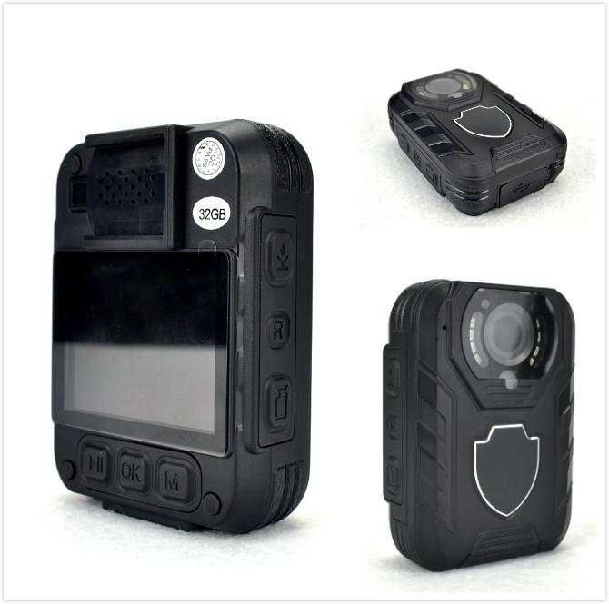 China IP68 Waterproof Body Worn Camera, Law Enforcement Camera, 3400mAh Battery Capacity China IP68