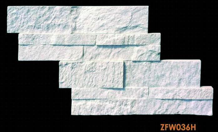 White quartzite panel ZFW036H