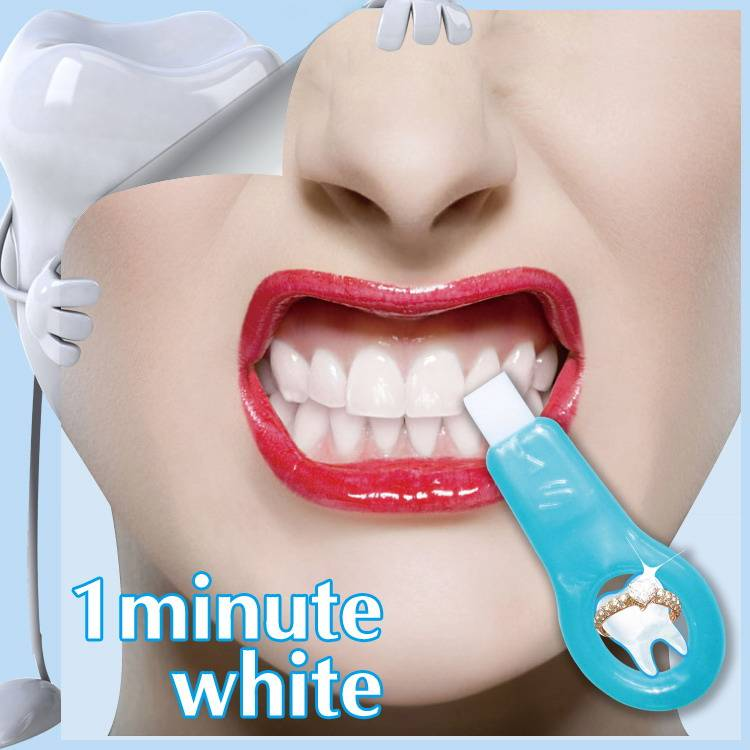 Person Oral Care Profession Whitening Teeth With No Peroxide