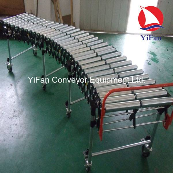 Flexible Plastic Twin Roller Conveyor