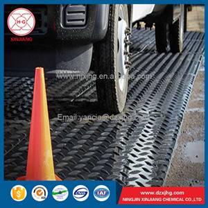high density polyethylene ground protection mat