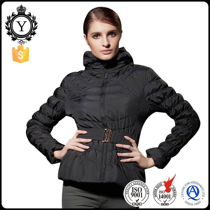 2016 Coutudi Wholesale Waterproof Softshell Padded Outdoor Women Heated Winter Bomber Down Jacket