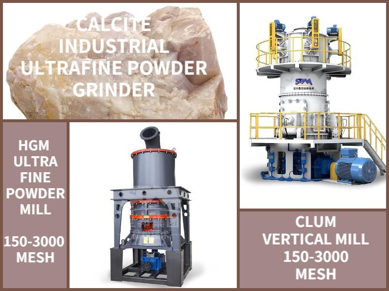 Calcite Industrial Ultrafine Powder Grinder