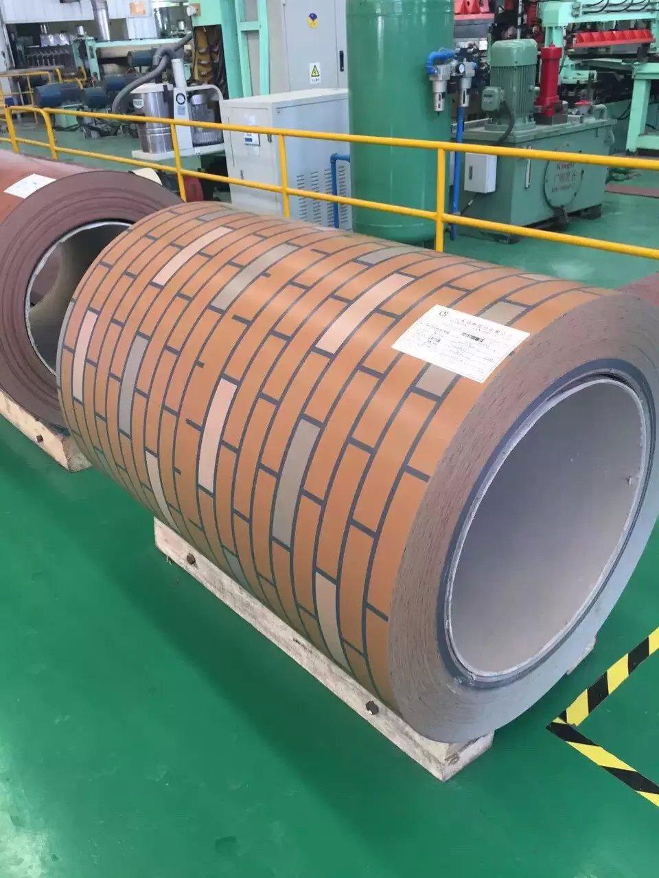 wall color PPGI/prepainted galvanized steel coil