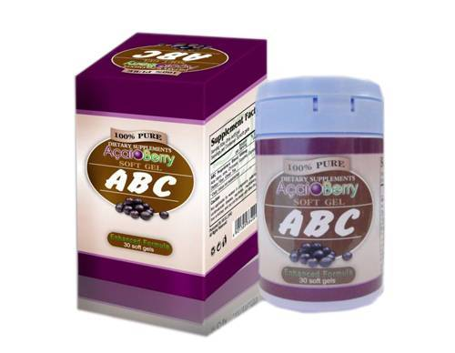 Acai Berry Slimming Capsules(ABC), the best Slimming capsules