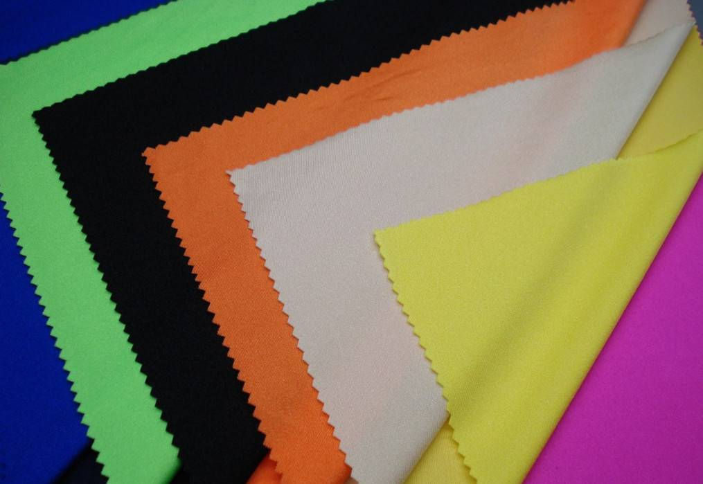 bright 4 ways stretch nylon spandex swimming fabric