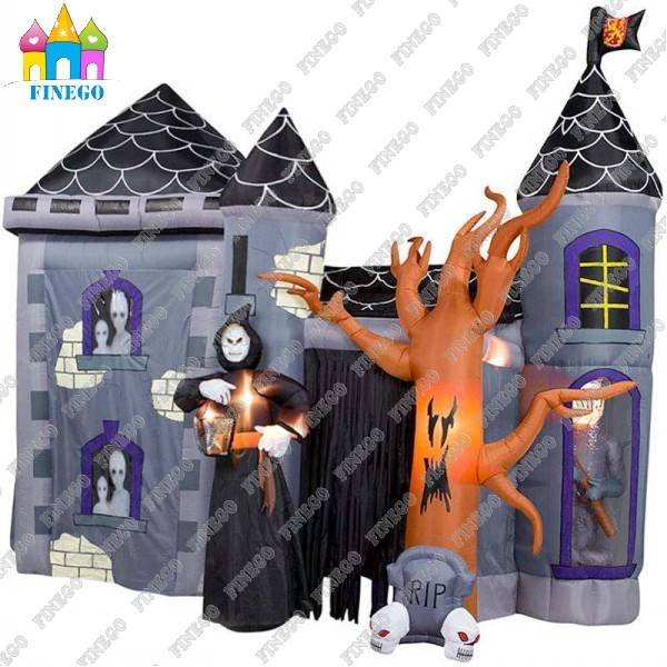 Giant Halloween Inflatable Archway