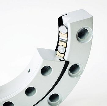 XSU 140644 cross roller slewing bearing without gear teeth