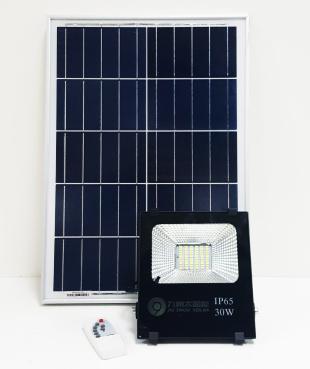 Outdoor floodlight spotlight Solar photosensitive induction floodlight (30W)