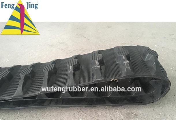 Robotic Rubber Track