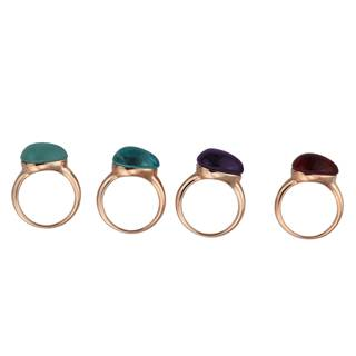 2015 Manli top quality Hot sale colorful unique Ring