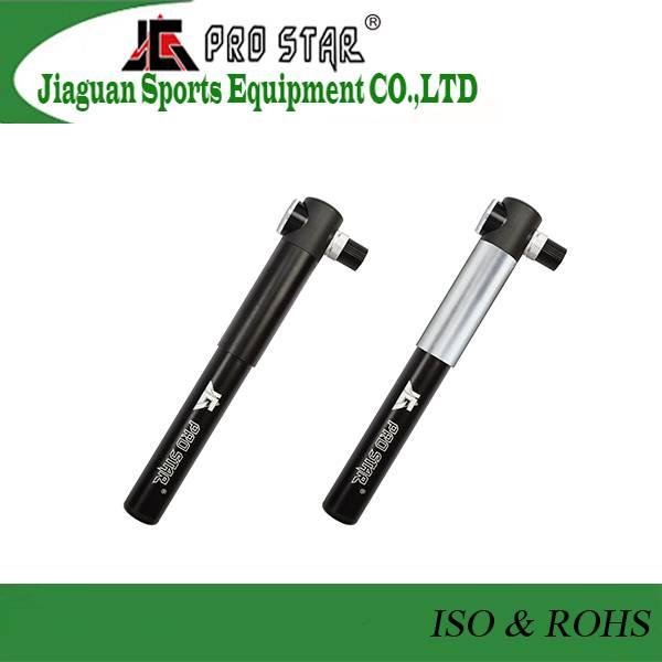 High Quality Aluminum High Pressure Bike hand air Pump with Pressure Gauge