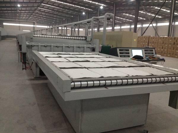 Linea de produccion para panel de aislamiento al vacio VIP