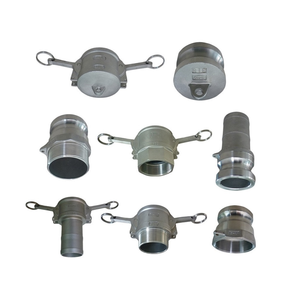Stainless Steel Camlock Coupling with a, B, C, D, E, F Type