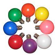 G50 faceted/smooth/ceramic LED bulbs with all colors