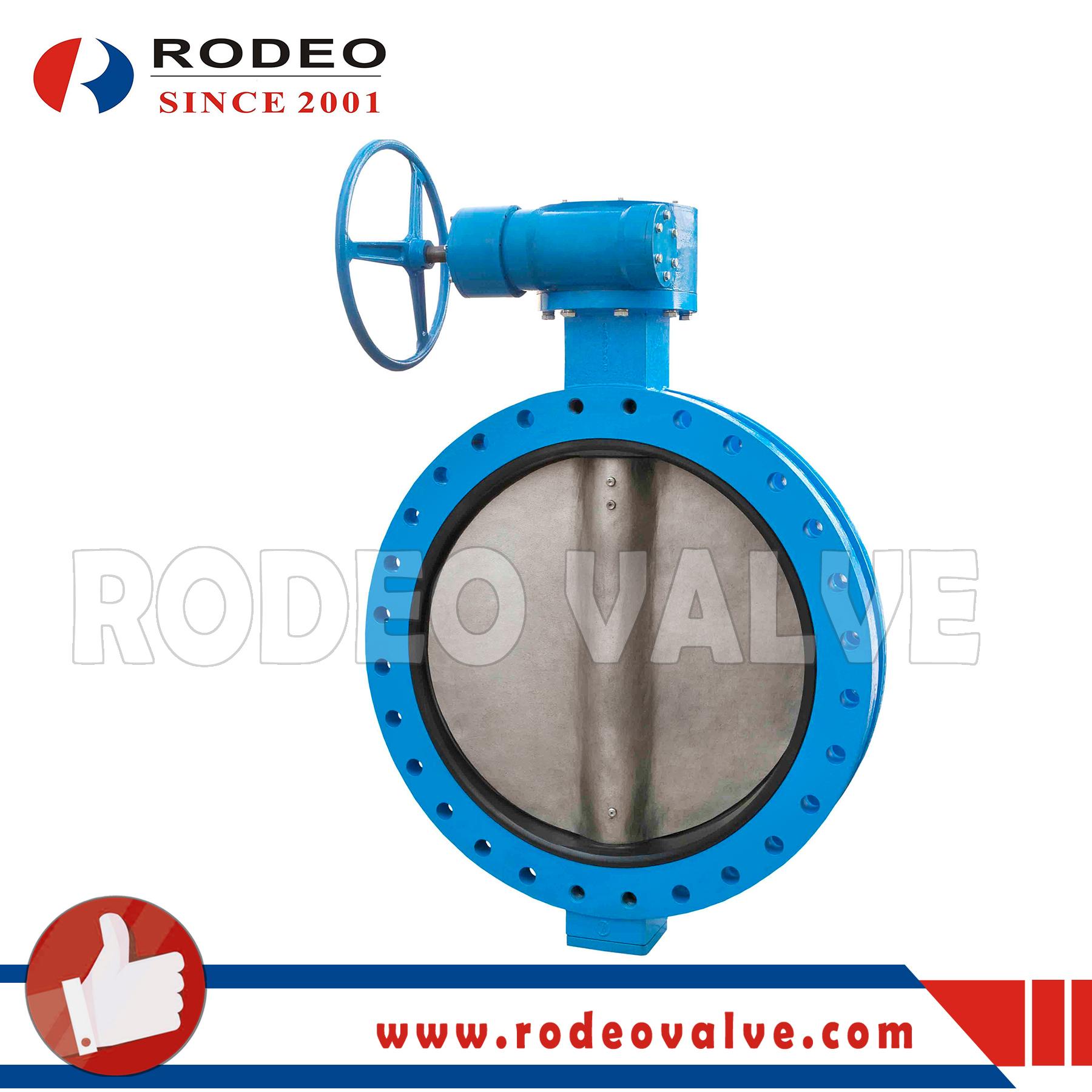 U type butterfly valve
