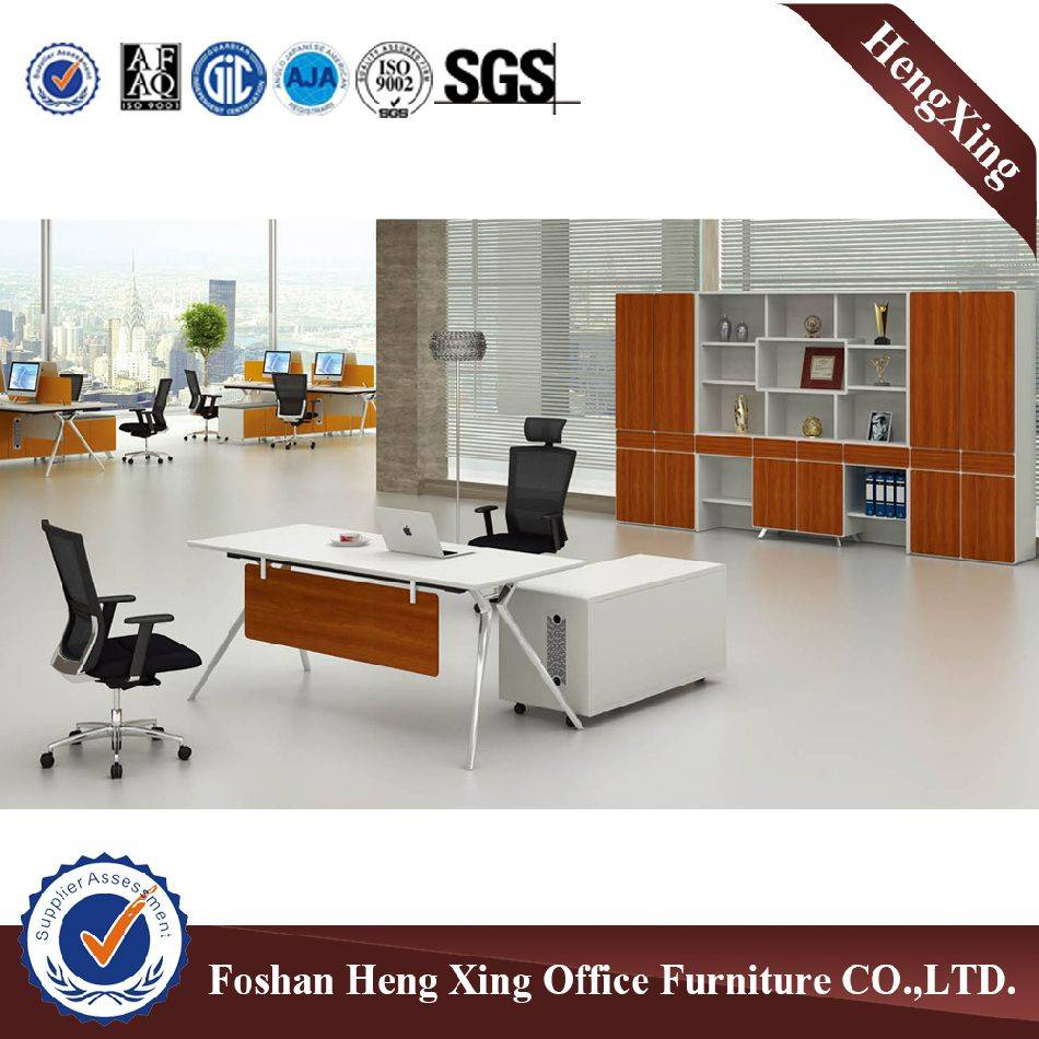 Modern  office table metal base fashion desk HX-D9012