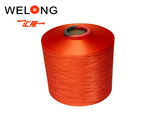 polyester textured yarn for wall colthes