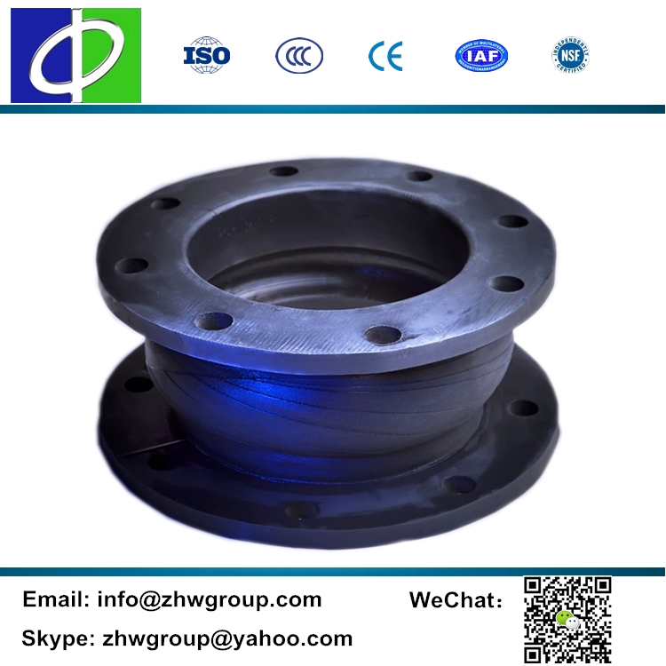 HD601 DN350 hand-build high pressure rubber expansion joint