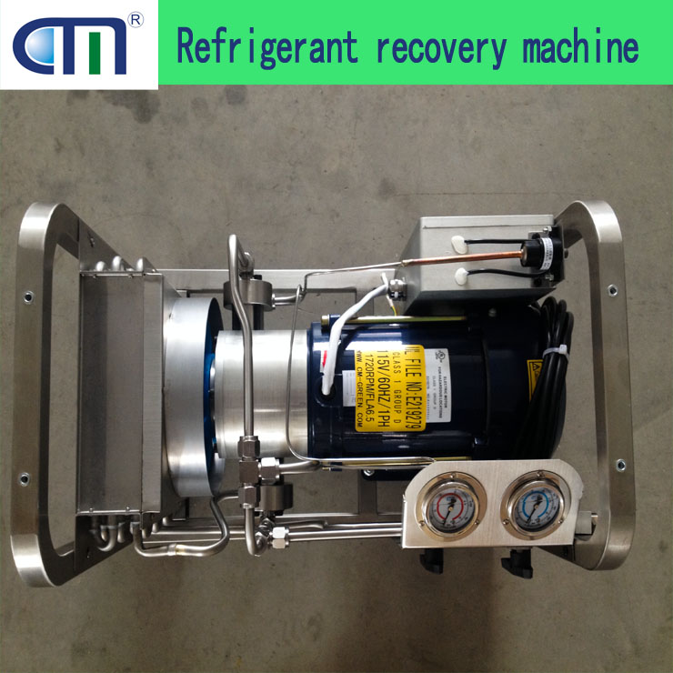 Explosion Proof Refrigerant Recovery Pump/Machine For R600A/R600/R290 Air Conditioning System