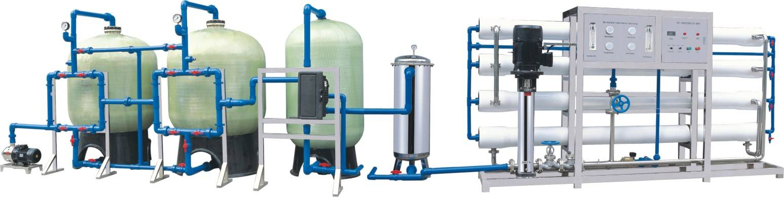 12000L/H Reverse Osmosis Water Treatment Machine
