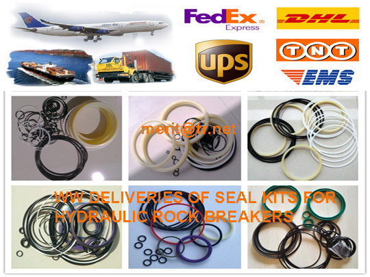 WW DELIVERIES OF SEAL KITS FOR HYDRAULIC ROCK BREAKERS