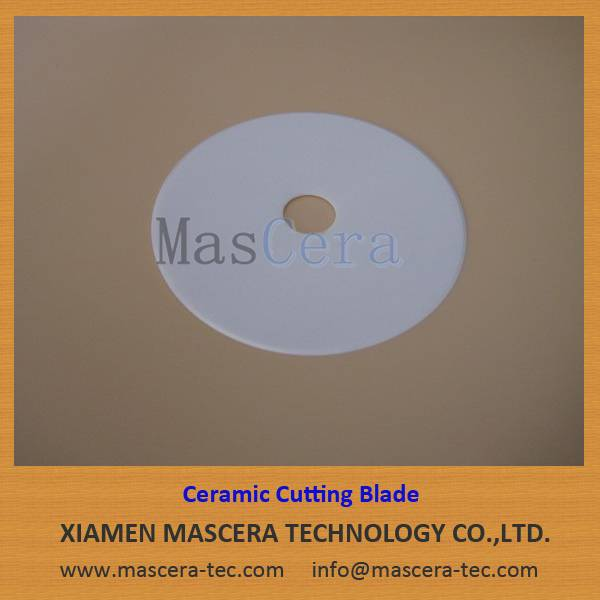 Zirconia ZrO2 Ceramic Blade/Cutting Blade for Rubber