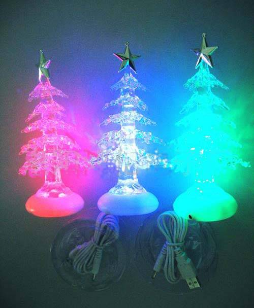 Flashing Christmas Tree with USB line