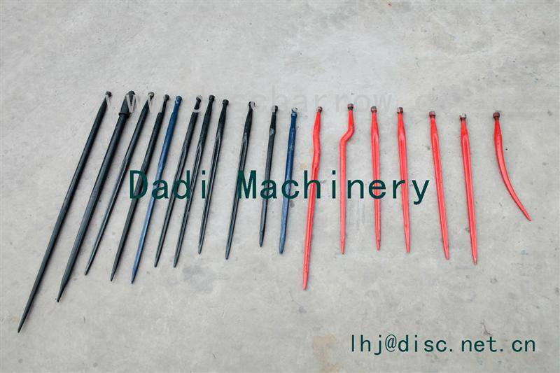 Agricultural machinery parts tine harrow/ loader tine