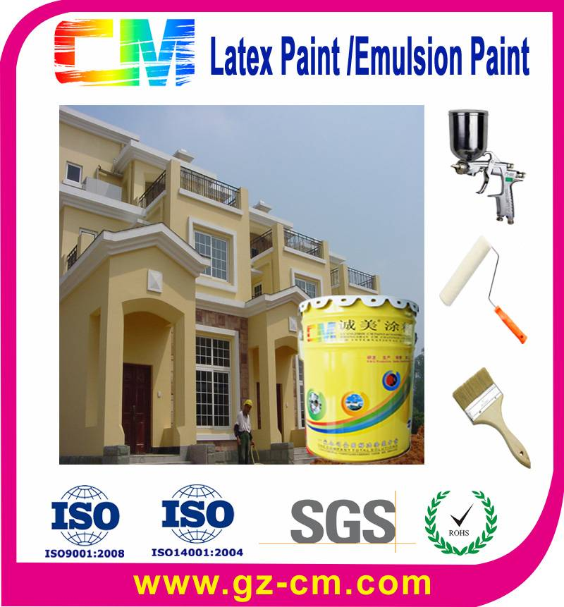 Waterproof UV proof Exterior Wall Paint Acrylic Emulsion Paint Manufacturer