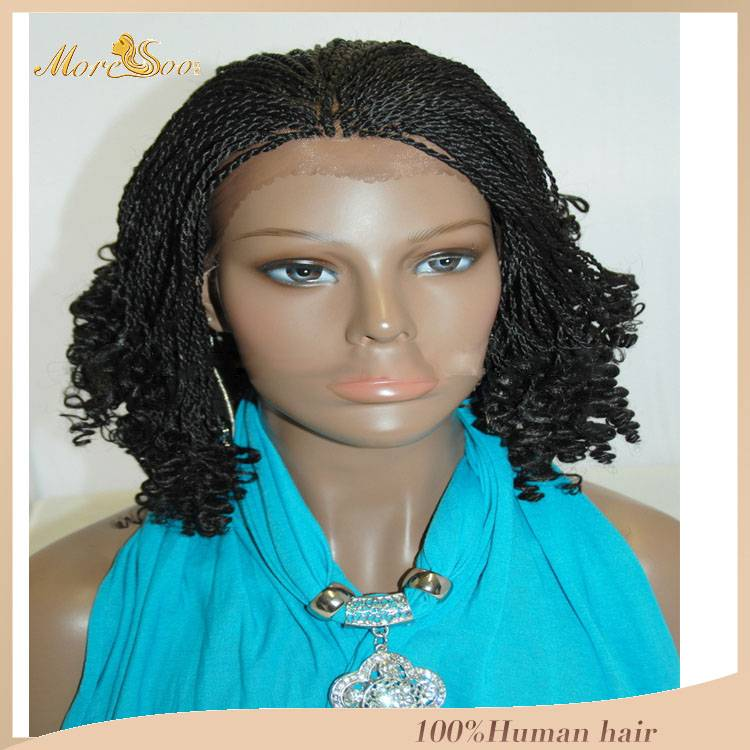 african braided full lace wig