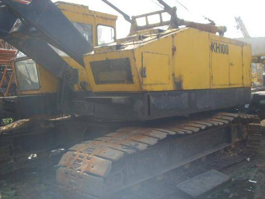 Used Hitachi KH100 30T Crawler Crane