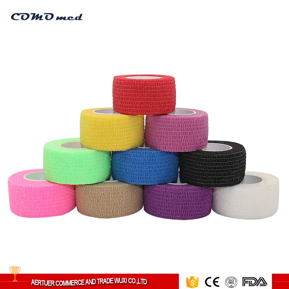 Self Adherent Cohesive Wrape Bandages Elastic Cohesive Bandage