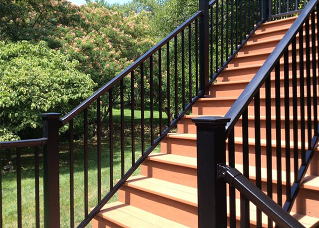 Aluminum Stair Railings