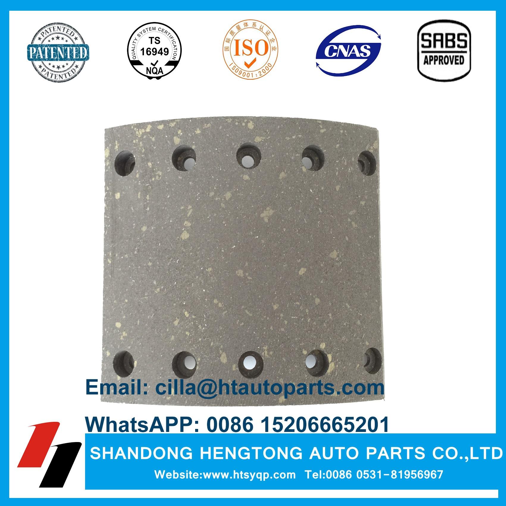 WVA19032 Brake Lining for BPW/SAF/DAF/Steyr Trailer parts