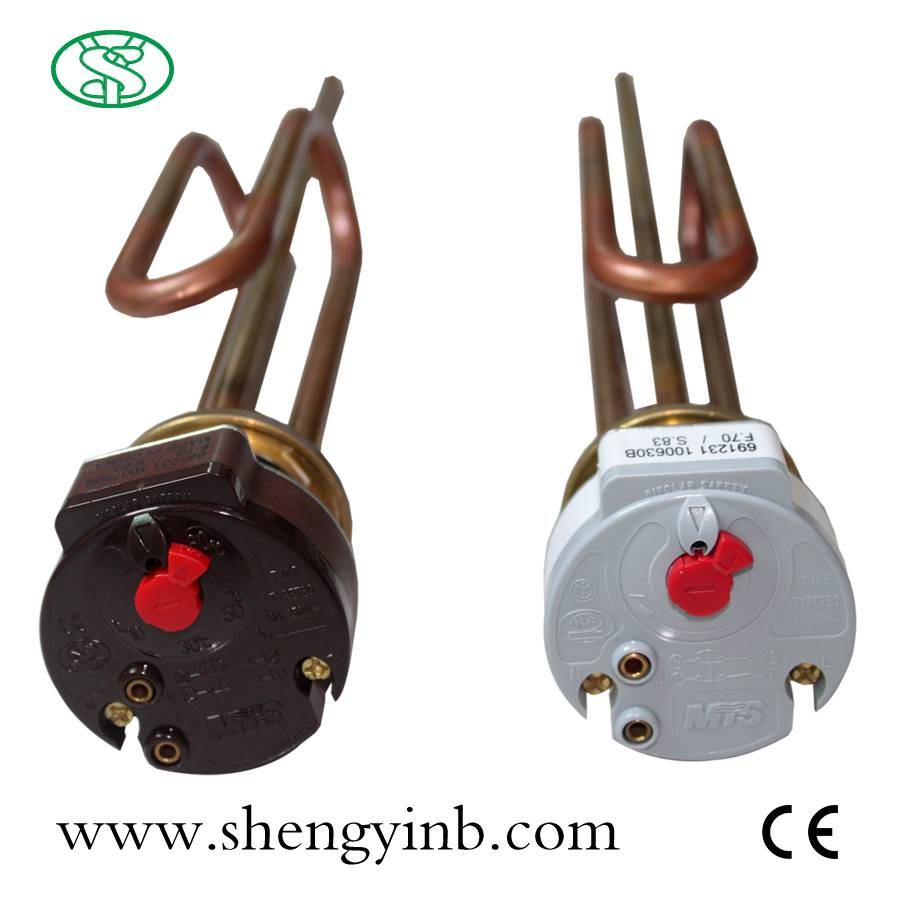 Customized Electric Water Heating Element with Copper Coil and Thermostat (SY06-30UT)
