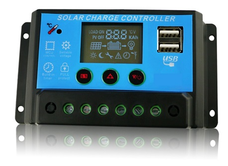 Solar Controller with LCD