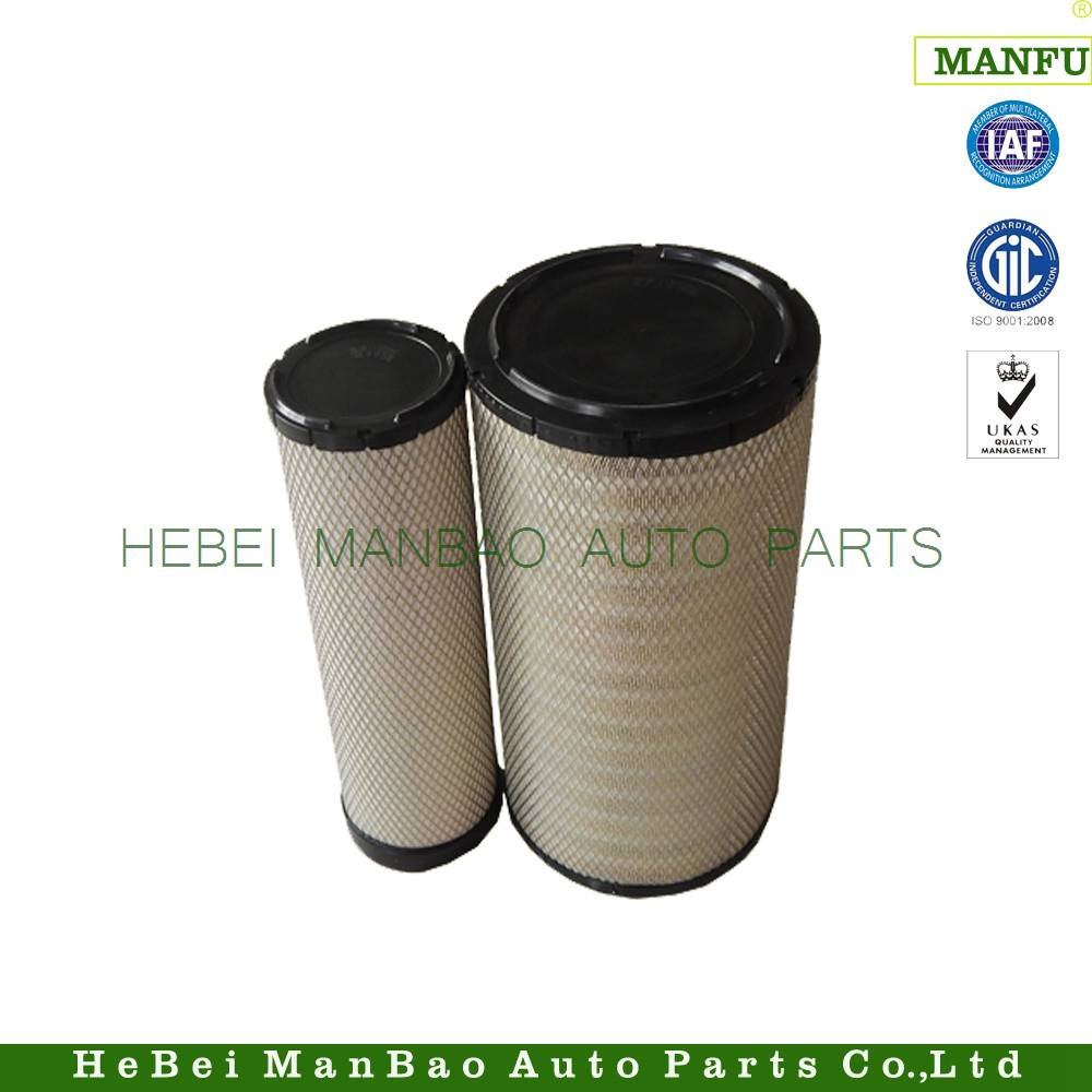 Customize  air filter  OE number (111033997  111033996) for volvo
