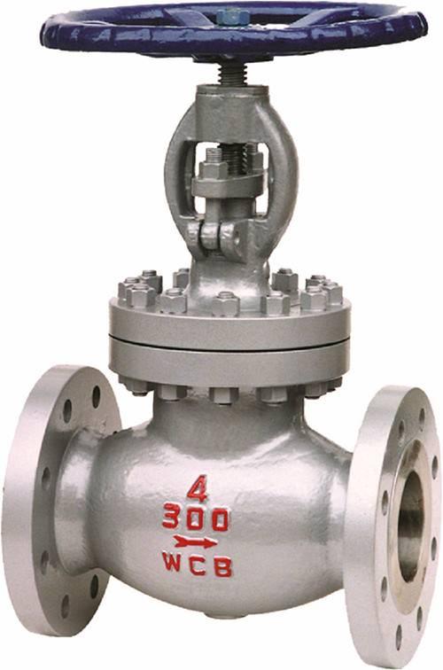 Steel globe valve RF 150lbs-600lbs