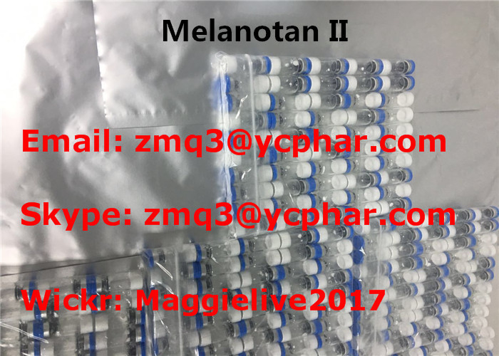 Melanotan II Tanning Peptides , Mt2 Tanning Injections CAS 121062-08-6