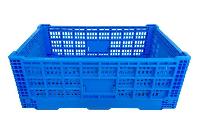 600*400*220mm plastic material mesh type crate for fruits