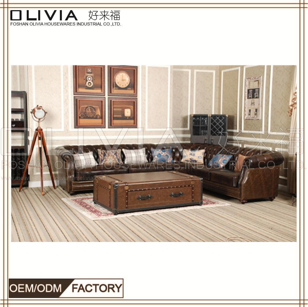Antique American Sofa,Chesterfield Sofa Wholesale Furniture China